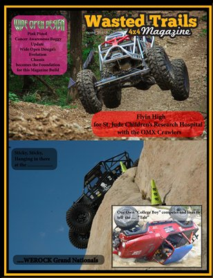 Free Download - $1 off reg. print price --Wasted Trails 4x4 Magazine October 2014 vol 17