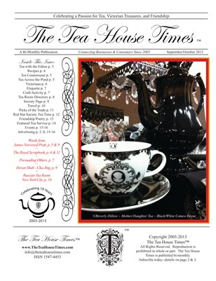 The Tea House Times Sept/Oct 2013 Issue