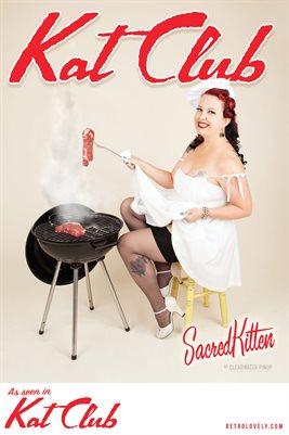 Kat Club No.27 – SacredKitten Cover Poster