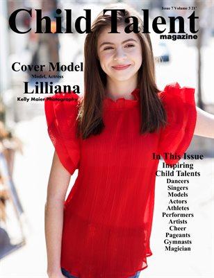Child Talent Magazine Issue 7 Volume 3 2021