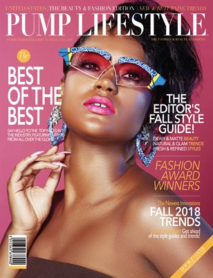 PUMP Lifestyle - The Beauty & Fashion Edition | October 2018 | VXVI