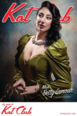 Miss Betty L'amour Cover Poster
