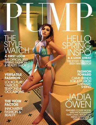 PUMP Magazine | The Style Watch Edition | Vol.5 | April 2021
