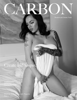 Carbon Black and White Photography Magazine - Art Nude and Boudoir Edition 9