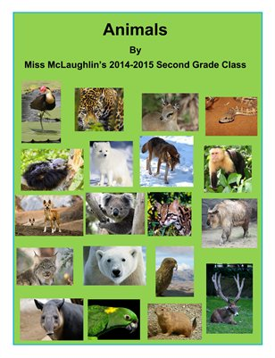 Miss McLaughlin's Animal Magazine 2014-15