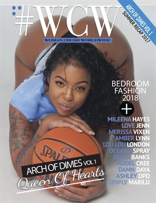 "WCW Magazine ""Arch of Dimes"" Queen of Hearts"