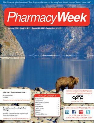 Pharmacy Week, Volume XXVI - Issue 30 & 31 - August 20, 2017 - September 9, 2017