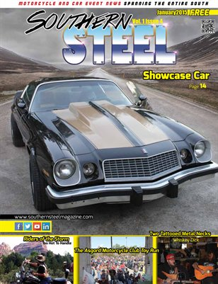 Southern Steel Motorcycle & Car Magazine January 2015