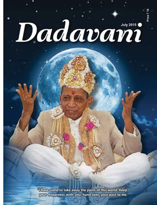 """Whoever Meets me, may he Attain Happiness…"" (English Dadavani July-2015)"