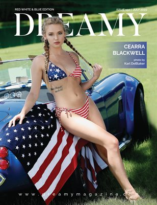 DREAMY Issue 150 | Red White & Blue Edition