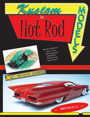 Kustom & Hot Rod Models - Premiere Issue