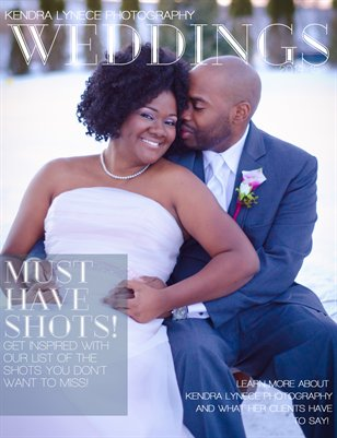 Kendra Lynece Photography Wedding Magazine 2014-15