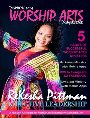 Worship Arts Magazine (March 2014)