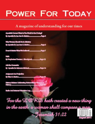 Power For Today, August 2011