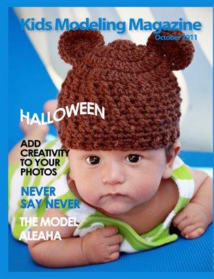 Kids Modeling Magazine, October 2011
