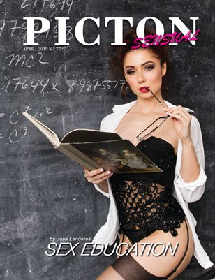 Picton Magazine APRIL 2019 N77  Sensual Cover 1
