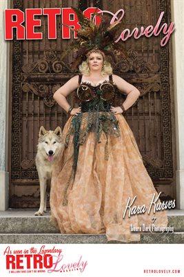 Retro Lovely No.64 – Kara Kurves Cover Poster