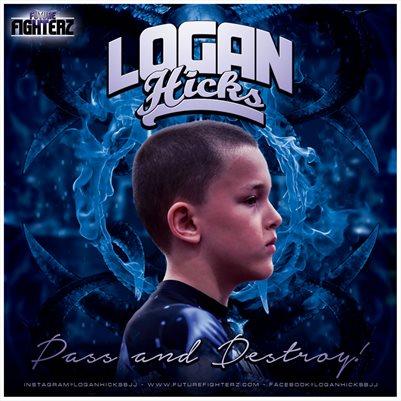 Logan Hicks Comp Card/Mini Poster 8x8