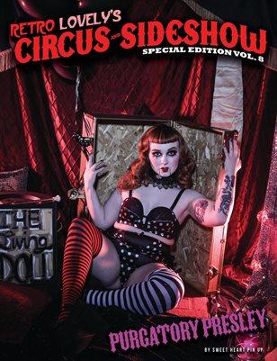 Circus & Sideshow 2021 Vol.8 – Purgatory Presley Cover