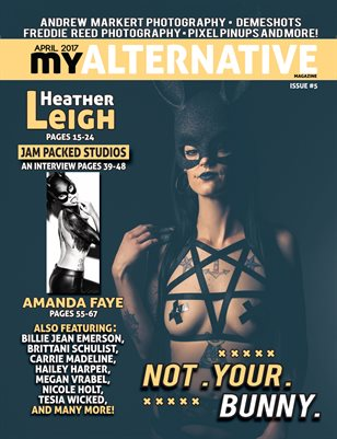 MyAlternative Magazine Issue 5 April 2017