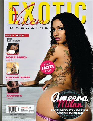 Exotic Vixen Magazine Vol.1 Issue.6 Sex in the kitchen