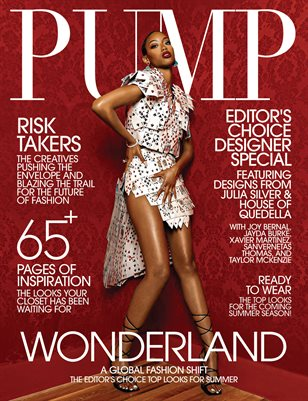 PUMP Magazine | The Editor's Choice Ultimate Fashion & Beauty Issue | Vol.3