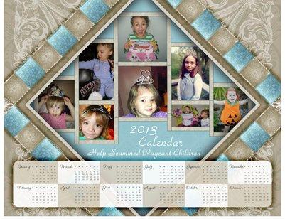 2013 Calendar Fundraiser