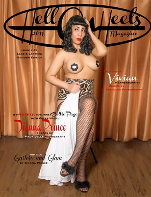 Hell on Heels Magazine Issue #69 Lace and Leather Boudoir Edition