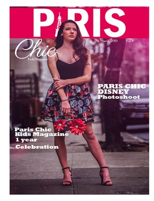 Paris Chic kids magazine March 9