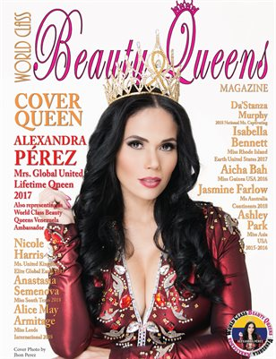 World Class Beauty Queens Magazine issue 49 with Alexandra Pérez