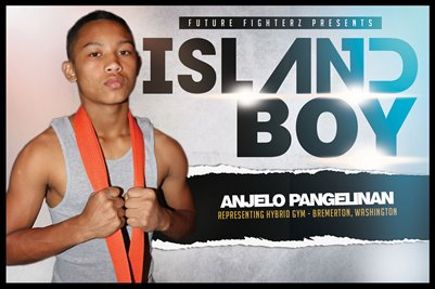 Anjelo Pangelinan Island Boy - Poster