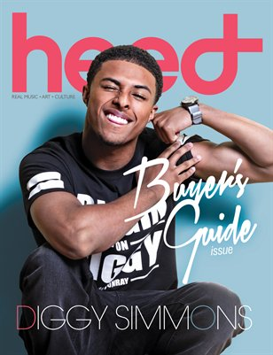Diggy Simmons - Heed Magazine Buyer's Guide
