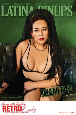 Latina Pinups Special Edition Vol.4 – Delilah Blue Cover Poster
