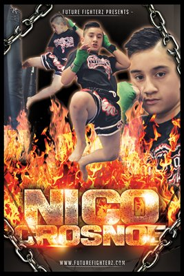Nico Crosnoe Muay Thai On Fire Poster