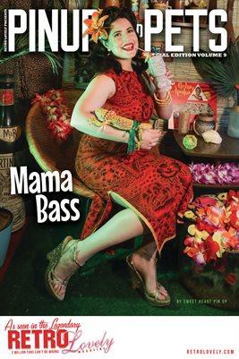 Pinups & Pets Vol. 9 – Mama Bass Cover Poster