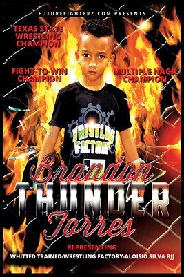 Brandon Torres Fire Poster