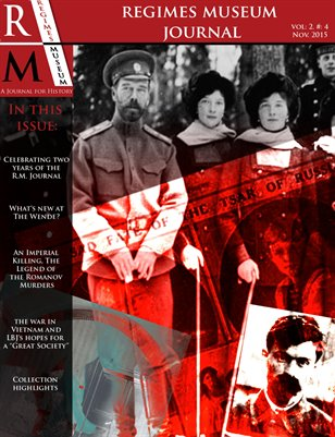 Regimes Museum Journal Volume 2, Edition 4