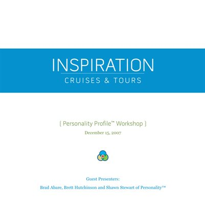 Personality Booklet