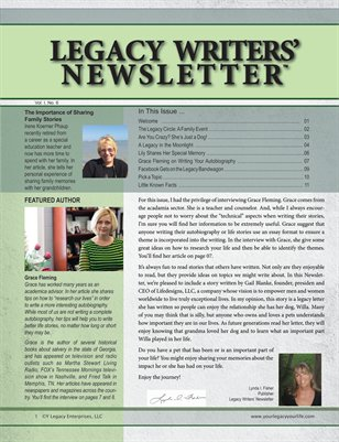 Legacy Writers' Newsletter 1:6