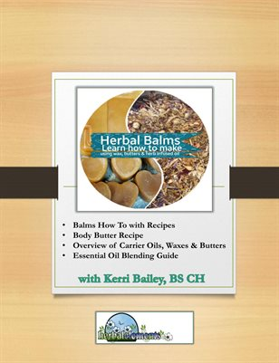 How to Make Herbal Balms