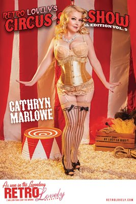 Circus & Sideshow 2021 Vol.9 – Cathryn Marlowe Cover Poster
