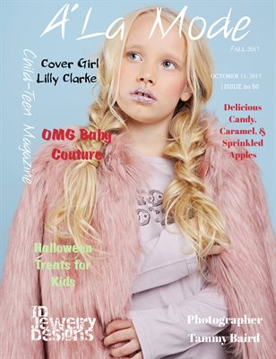 A'La Mode Child-Teen Magazine,Fall 2017 Issue #50,Vol.2