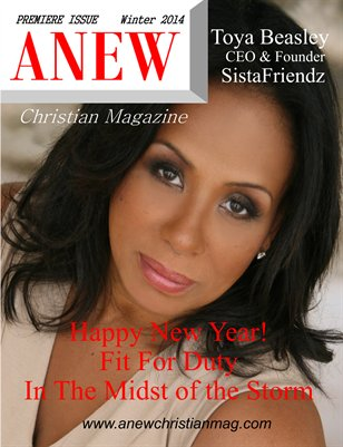 ANEW Christian Magazine  Premiere Issue Winter 2014