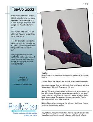 Toe-Up Socks