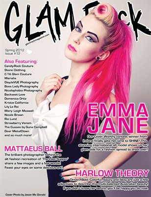 Spring 2012 Issue 12 Featuring Emma-Jane