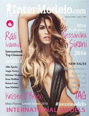 Intermodelo Glamour Edition - Issue 1 2016