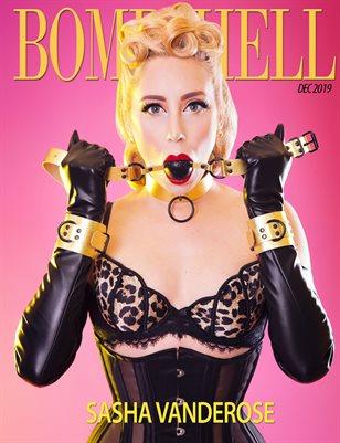 BOMBSHELL Magazine December 2019 BOOK 2 - Sasha Vanderose Cover