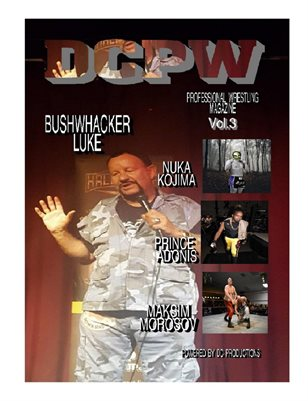 DCPW Professional Wrestling Magazine Vol.3