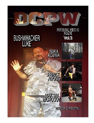 DCPW Professional Wrestling Magazine Vol.3