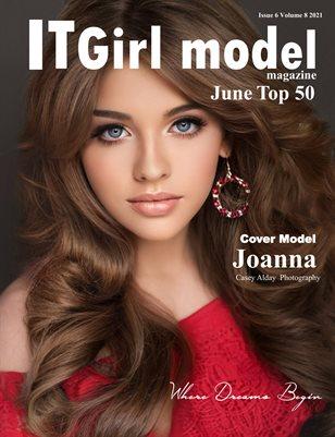 It Girl Model Magazine Issue 6 Volume 8 2021 June Top 50